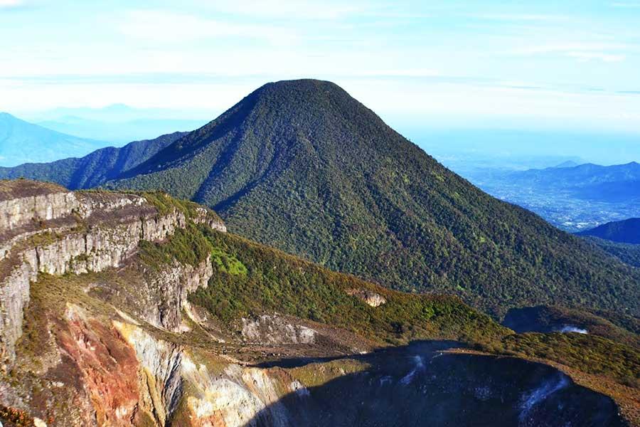 Mount Gede or Gunung Gede