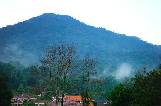Mount Lambak or Gunung Lambak